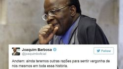 Joaquim Barbosa sobre votação do impeachment: 'De chorar de