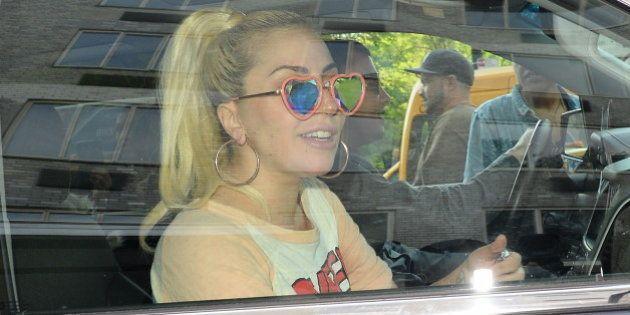 NEW YORK, NY - MAY 11: Singer Lady Gaga is seen walking in Soho on May 11, 2016 in New York City. (Photo...