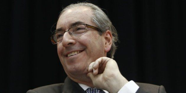 The president of the Brazilian Chamber of Deputies, Eduardo Cunha, from the Brazilian Democratic Movement...