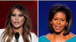Oops! Melania Trump COPIOU o discurso de Michelle Obama em