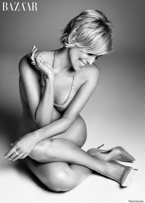 Sharon Stone nua aos 57: 'Sexy não é apenas a elevação de seus