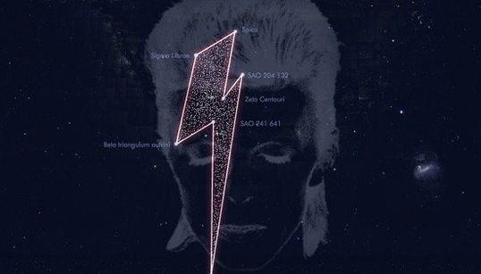 Starman! David Bowie é homenageado com sua própria