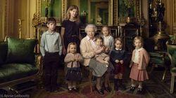 Rainha Elizabeth posa com TODOS os bisnetos (um mais fofo do que o outro!)
