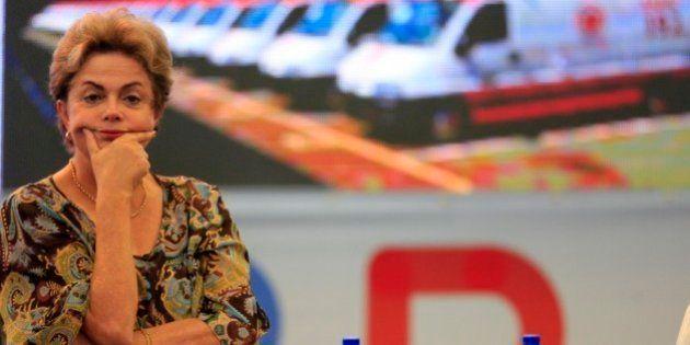 Dilma se diz saudável, 'mesmo debaixo de pressão, desfaçatez e