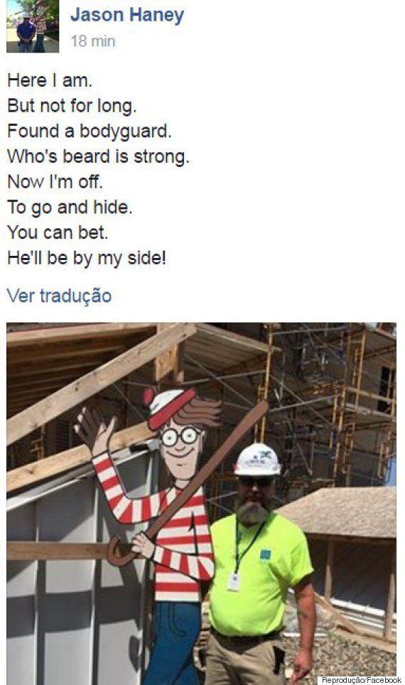 Onde está o Wally? Operário transforma rotina de um hospital infantil ao esconder