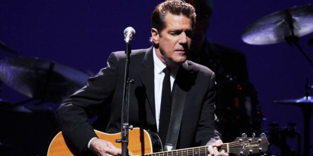 SUNRISE, FL - JANUARY 26 : Glenn Frey of the Eagles performs at the Bank Atlantic Center on January 26,...