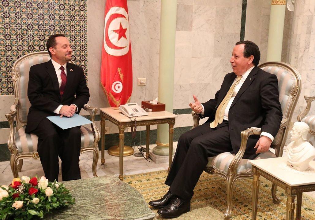 En fin de mission en Tunisie, l'ambassadeur U.S en Tunisie Daniel Rubinstein se livre à