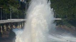 Vídeo mostra momento da queda de ciclovia no Rio de