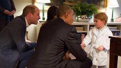 Encontro de gigantes: Obama é apresentado ao príncipe
