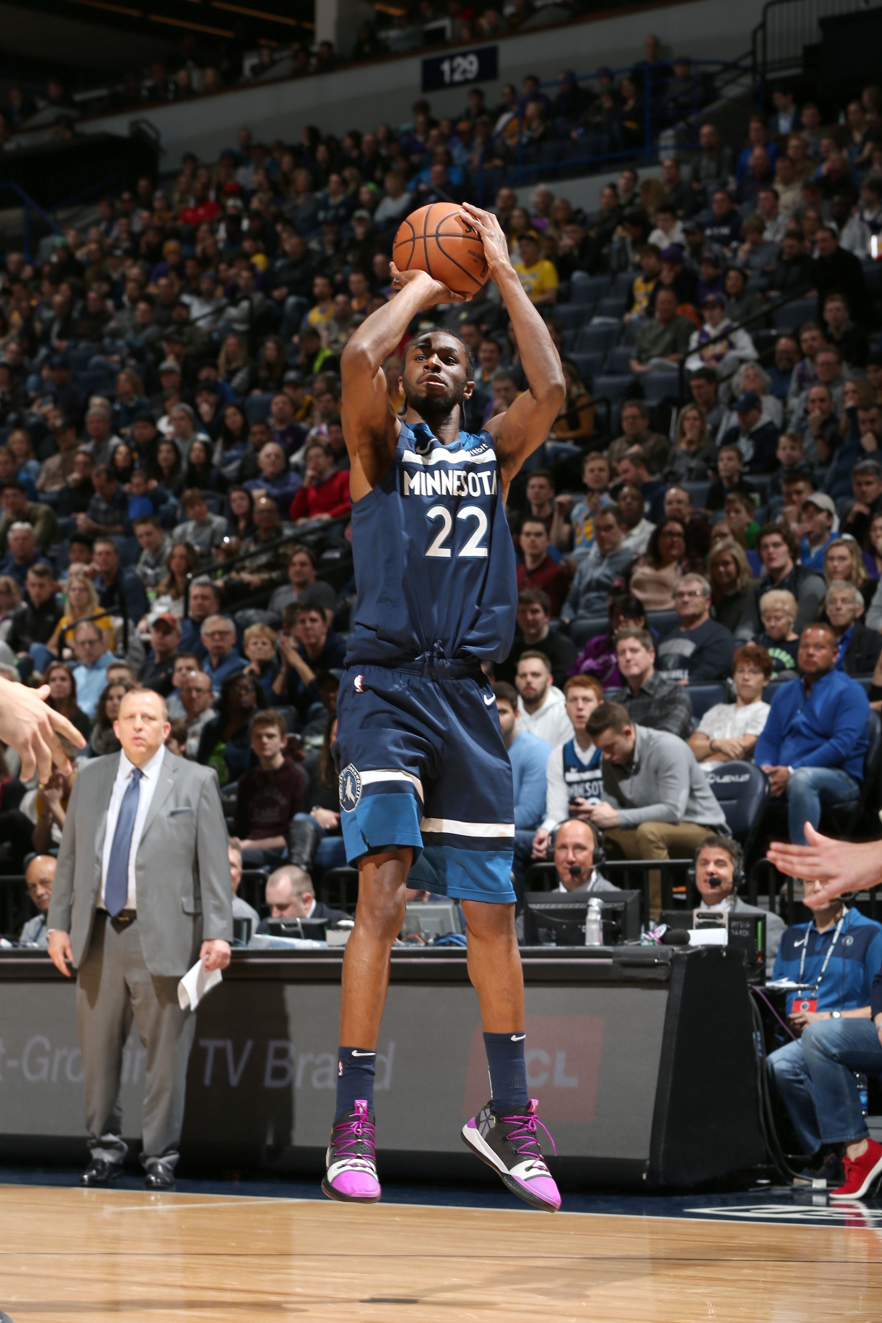 Minnesota Wolves' Andrew Wiggins Appears To Call Player 'Gay' In