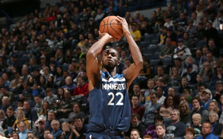 """Minnesota forward Andrew Wiggins has denied using """"gay"""" as a derogatory term in reference to a fellow basketball player.&nbsp"""