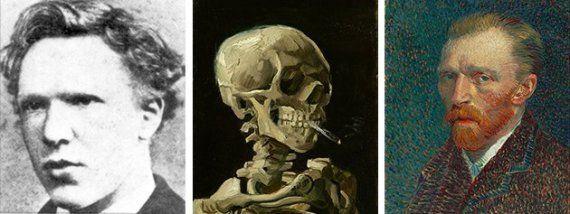 Esquerda:1873. Centro: Vincent van Gogh,
