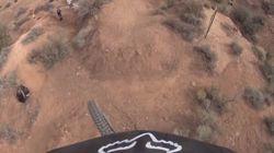 ASSISTA: Uma bike, uma câmera e a descida de uma montanha no