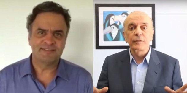 José Serra e Aécio Neves chamam população para ir às ruas neste domingo