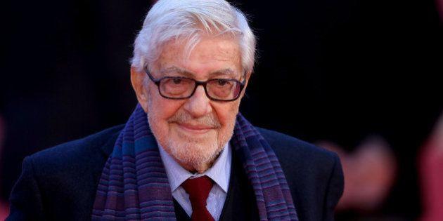 ROME, ITALY - OCTOBER 18: Ettore Scola attends the red carpet for 'Ridendo E Scherzando' during the 10th...