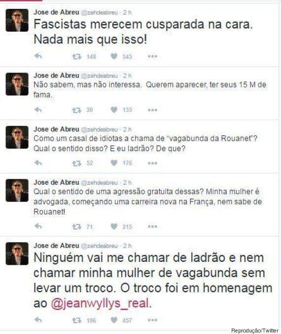 José de Abreu responde provocação com cusparada: 'Fascistas serão tratados