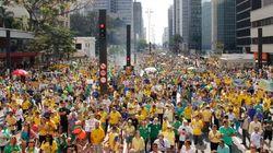 PM fala em 350 mil na Paulista; protestos ocorreram em 25 Estados e no