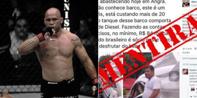 Lula estuda processar lutador Wanderlei Silva por 'calúnias' postadas no