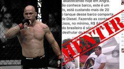 Fã de Bolsonaro, lutador de MMA pode ser processado por