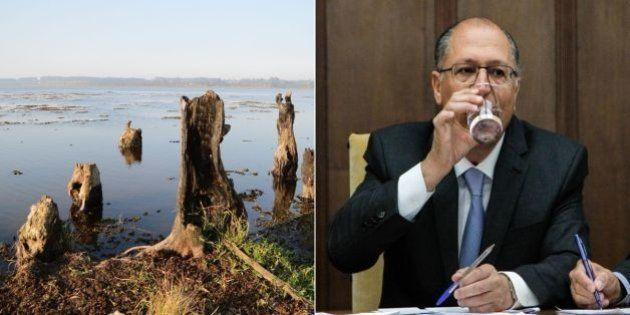 Rio seca e Sabesp não tem como captar água, 50 dias após inauguração de