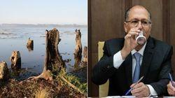 Parece piada: Sabesp gasta R$ 29 milhões em obra em 'rio sem
