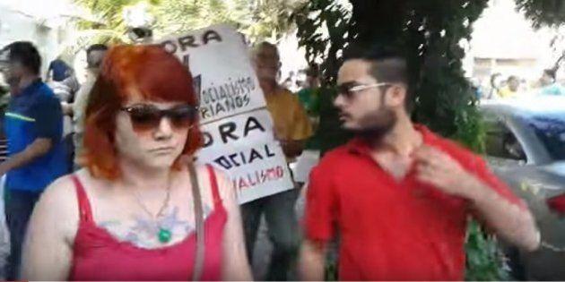 Protestos antigoverno registram casos de agressão a pessoas críticas às