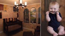 Pai monta quarto inspirado em Harry Potter para seu filho e o resultado é