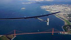 INCRÍVEL: Avião movido exclusivamente a energia solar atravessa Oceano