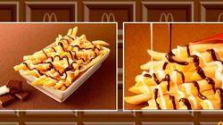 Delicioso ou nojento? McDonald's lança batata frita com chocolate e divide