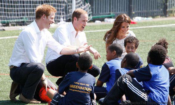 Kate Middleton,William e Harry unem forças para eliminar os tabus que cercam a saúde