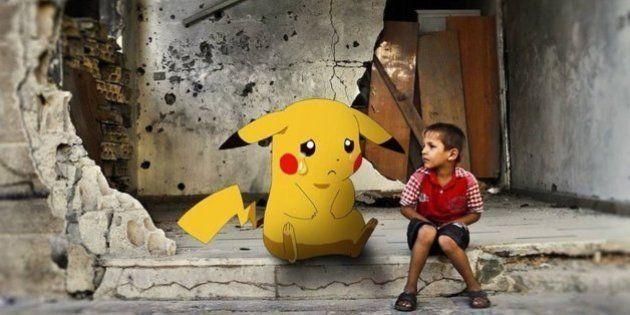 Crianças sírias usam Pokemon Go para lançar apelo ao mundo, pedindo que as