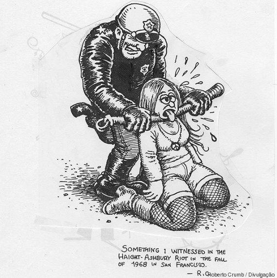 Cartunista Robert Crumb cede dois desenhos para protestos do Movimento Passe