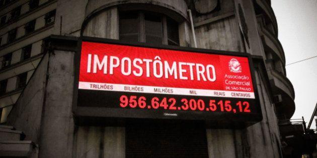Cuanto han pagado de impuesto este año los brasileños. São
