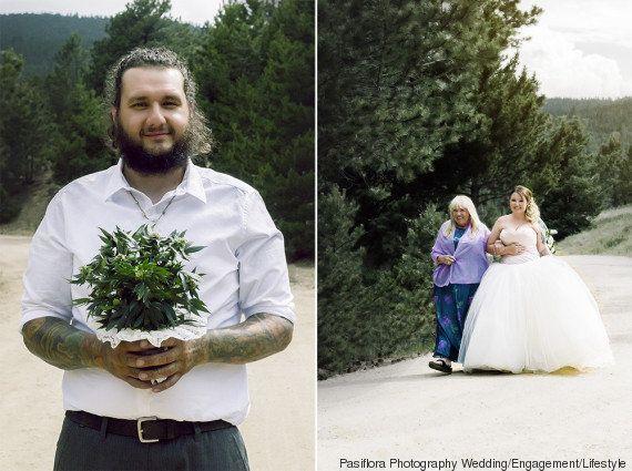 Casamentos 4h20: noivos e noivas dos EUA começam a incluir maconha nas