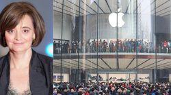 'A Apple não deveria 'ignorar a força da mulher'', diz ex-primeira-dama
