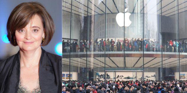 'A Apple não deveria 'ignorar a força da mulher consumidora'', diz ex-primeira-dama
