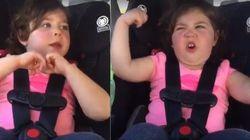 ASSISTA: Esta garotinha fez a performance MAIS FOFA de 'I Love Rock