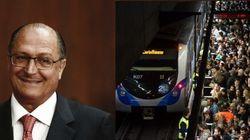 Atraso em obras do Metrô deixa 46 trens novos parados em