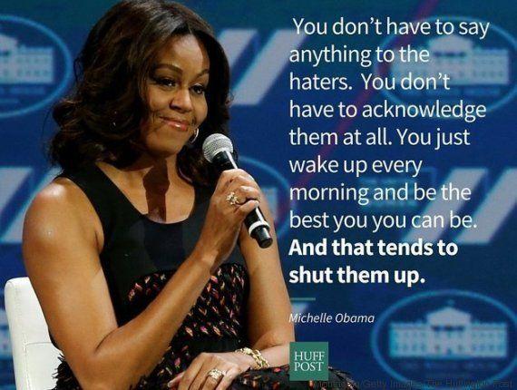 Michelle Obama tem um recado para os homens: 'Sejam