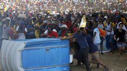 Sul-africanos tomam as ruas contra altos custos na
