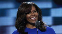 MARAVILHOSA! Michelle Obama rouba a cena em convenção