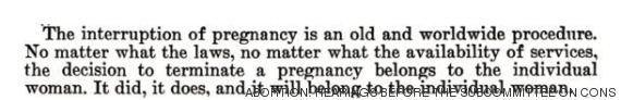 Testemunho médico de 1974 mostra como o aborto é perigoso quando é