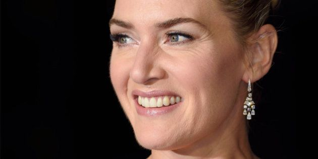 LONDON, ENGLAND - OCTOBER 18: Kate Winslet attends a screening of 'Steve Jobs' on the closing night of...