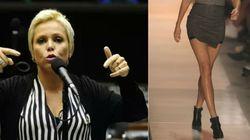 Deputada quer barrar mulher com saia curta e decote na Câmara dos