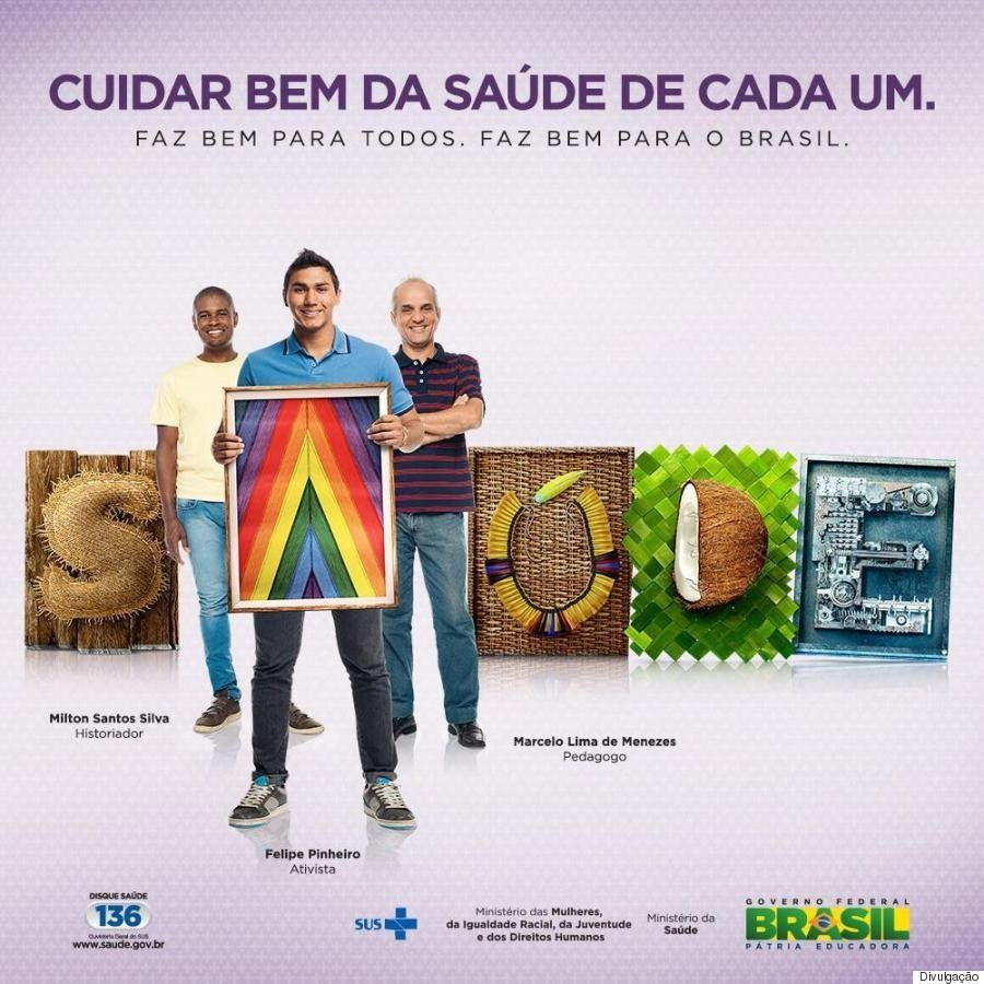 Nova campanha do Ministério da Saúde quer informar e conscientizar sobre a saúde de homens gay e