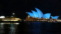 Mundo se ilumina de azul para celebrar os 70 anos da