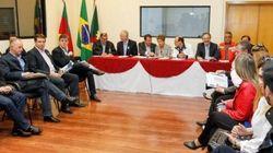 Dilma visita RS e SC e sobrevoa áreas afetadas pelas
