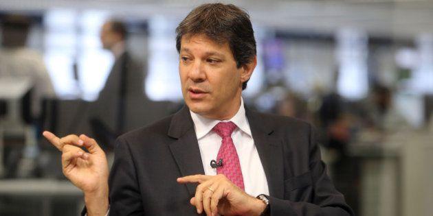 Fernando Haddad, prefeito de São Paulo, diz que fica no PT 'com