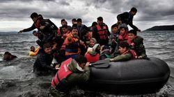 Mulher e crianças morrem em colisão de bote de refugiados em