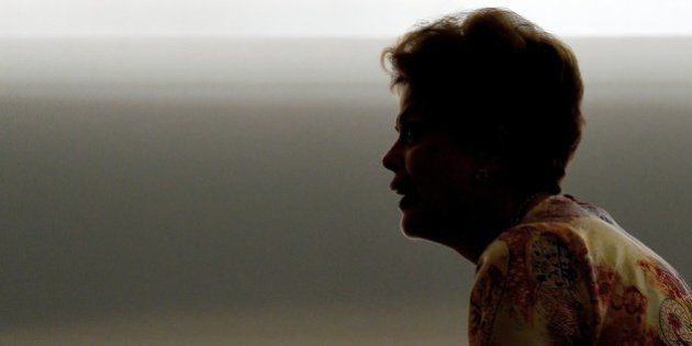 Brazilian President Dilma Rousseff speaks during a signature ceremony of a Law which regulates the Lottery...